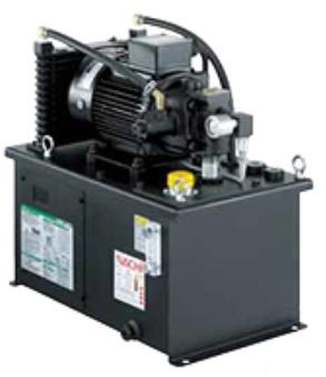 製品写真:省エネ可変ポンプユニット インバータ駆動油圧ユニット NSPiシリーズ