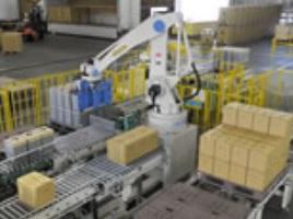 製品写真:パレタイジングロボットロボットパレタイザAシリーズ