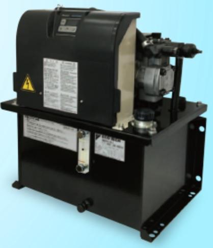製品写真:ハイブリッド油圧ユニット エコリッチ