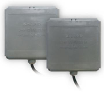 製品写真:国際規格に準拠したUHF帯RFIDのアンテナ一体型リーダライタ