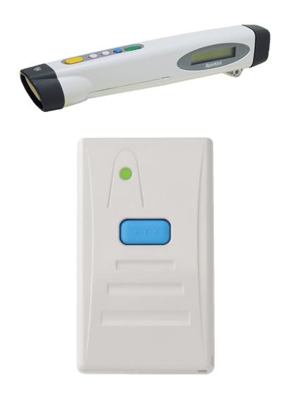 製品写真:HF帯RFIDペン型ハンディターミナル DHT-120シリーズ/FeliCa、バーコードBluetooth® ハンディスキャナ DHS-100シリーズ