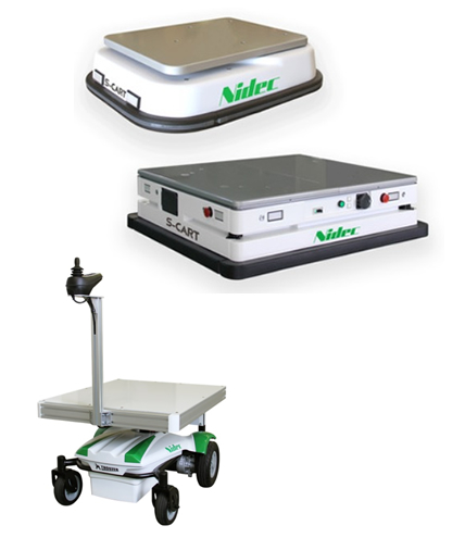 製品写真:ガイドレス走行AGV「S-CART」/追従運搬ロボット THOUZER