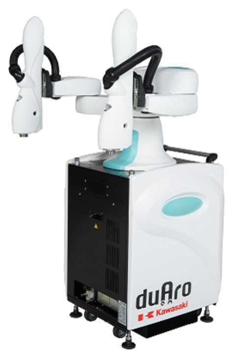 製品写真:人との共存作業 双腕型ロボット duAro