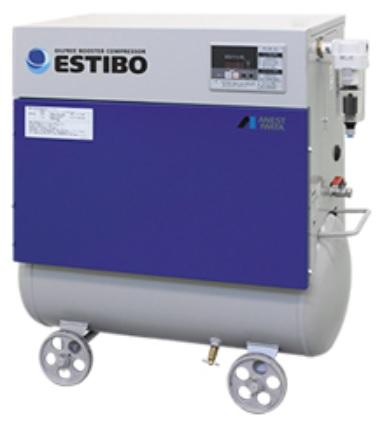 製品写真:オイルフリーブースタコンプレッサ(空気・窒素用) 小形タイプ EFBSシリーズ