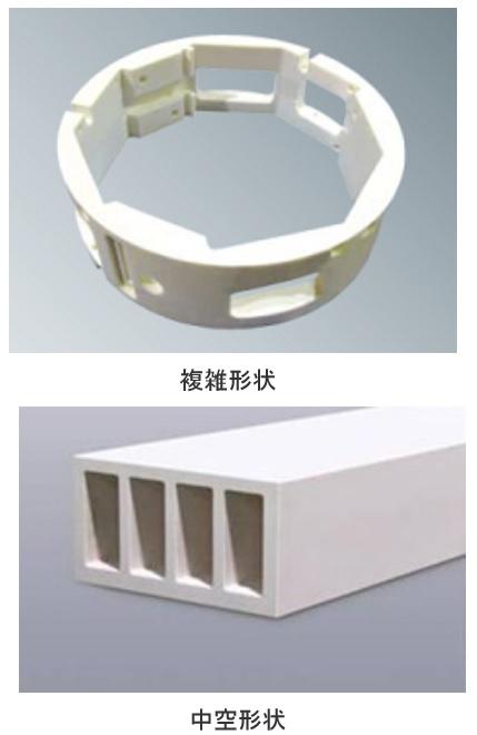 製品写真:精密加工・複雑な形状への加工などに高付加価値セラミックス 「Vセラックス」
