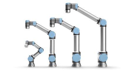製品写真:協働ロボット「UR」・「UR+」