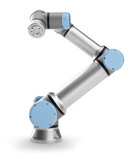 製品写真:UNIVERSAL ROBOTSの協働ロボット「UR16e」